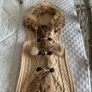 Linda Richards Fur Vest